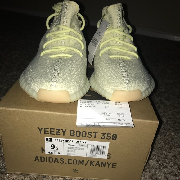 """separation shoes 6008b 31af4 Yeezy Boost 350 """"Butter"""""""